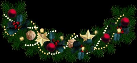 Free christmas garland clipart ... Chris-Free christmas garland clipart ... Christmas Garland Border .-9