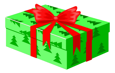 Free Christmas Gifts Clipart