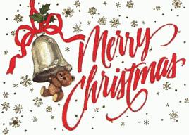 Free Christmas Greetings Clipart