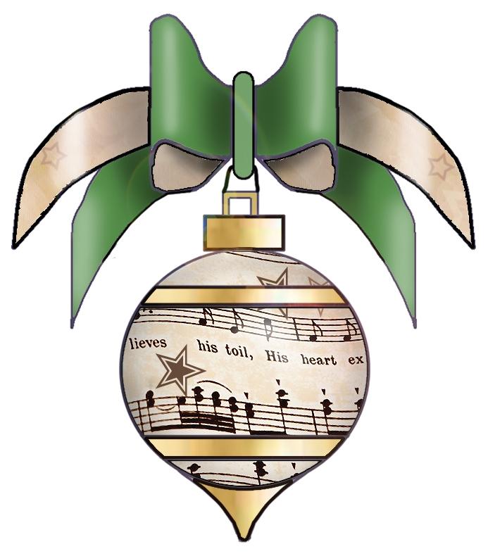 Free Christmas Music Clip Art