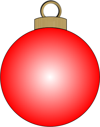 Free Christmas Ornaments Clipart