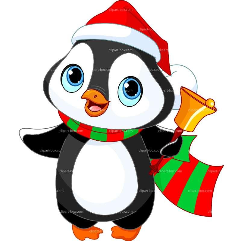 Free christmas penguin clipart - ClipartFox