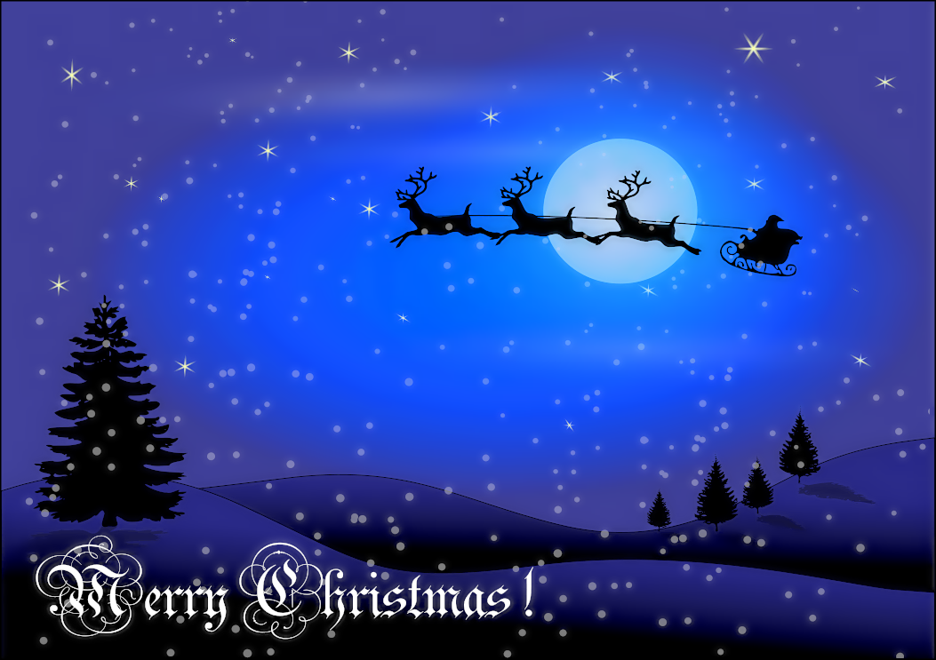 Christmas Scenes Images.58 Christmas Scenes Clipart Clipartlook