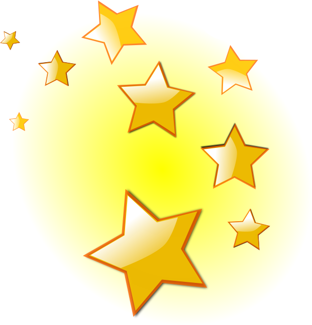 Free Christmas Star Clipart