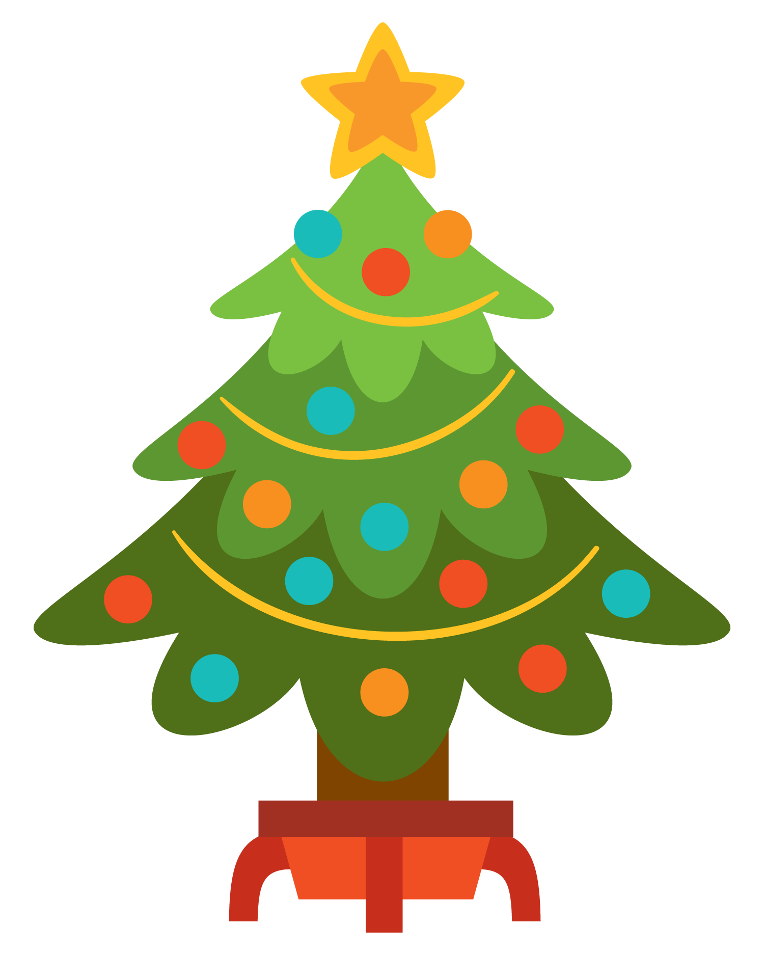 Free Christmas Tree Clip Art .-Free christmas tree clip art .-12
