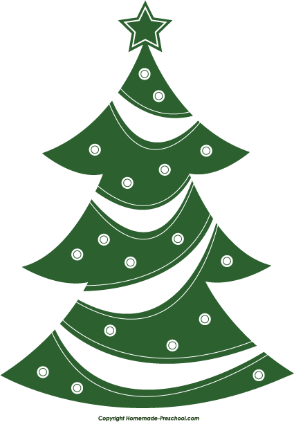 Tre... Clip Art Christmas Trees