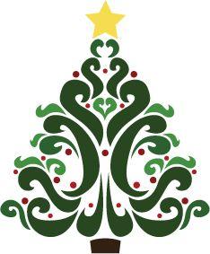 Free Christmas Tree Clipart-Free Christmas Tree Clipart-1