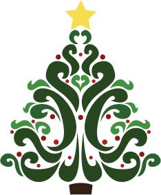 Free Christmas Tree Clipart-Free Christmas Tree Clipart-16