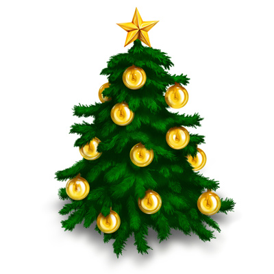 Free Christmas Tree Clipart | quotes.