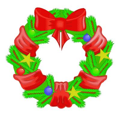 Free Christmas Wreath Clipart-Free Christmas Wreath Clipart-13