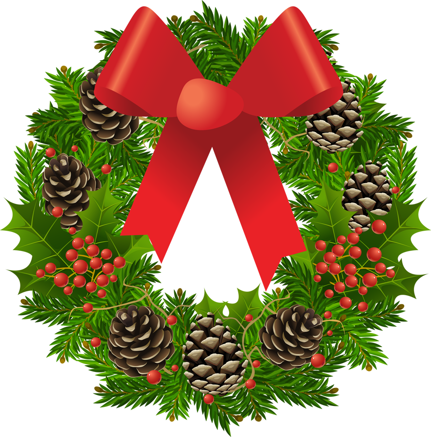Free Christmas Wreath Clipart-Free Christmas Wreath Clipart-15