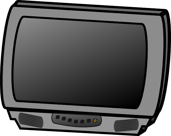 Free Classic Television Clip Art