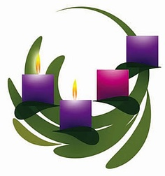 Free clip art advent candles - .