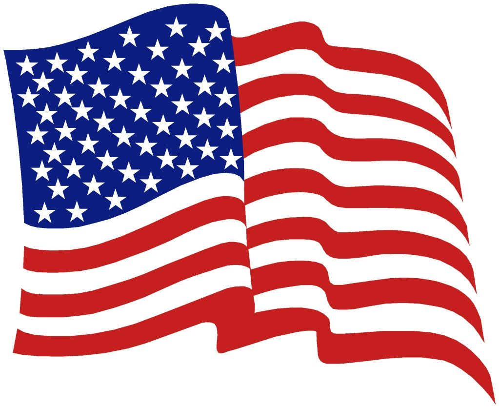Free Clip Art American Flag .