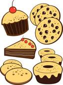 Free clip art bakery goods