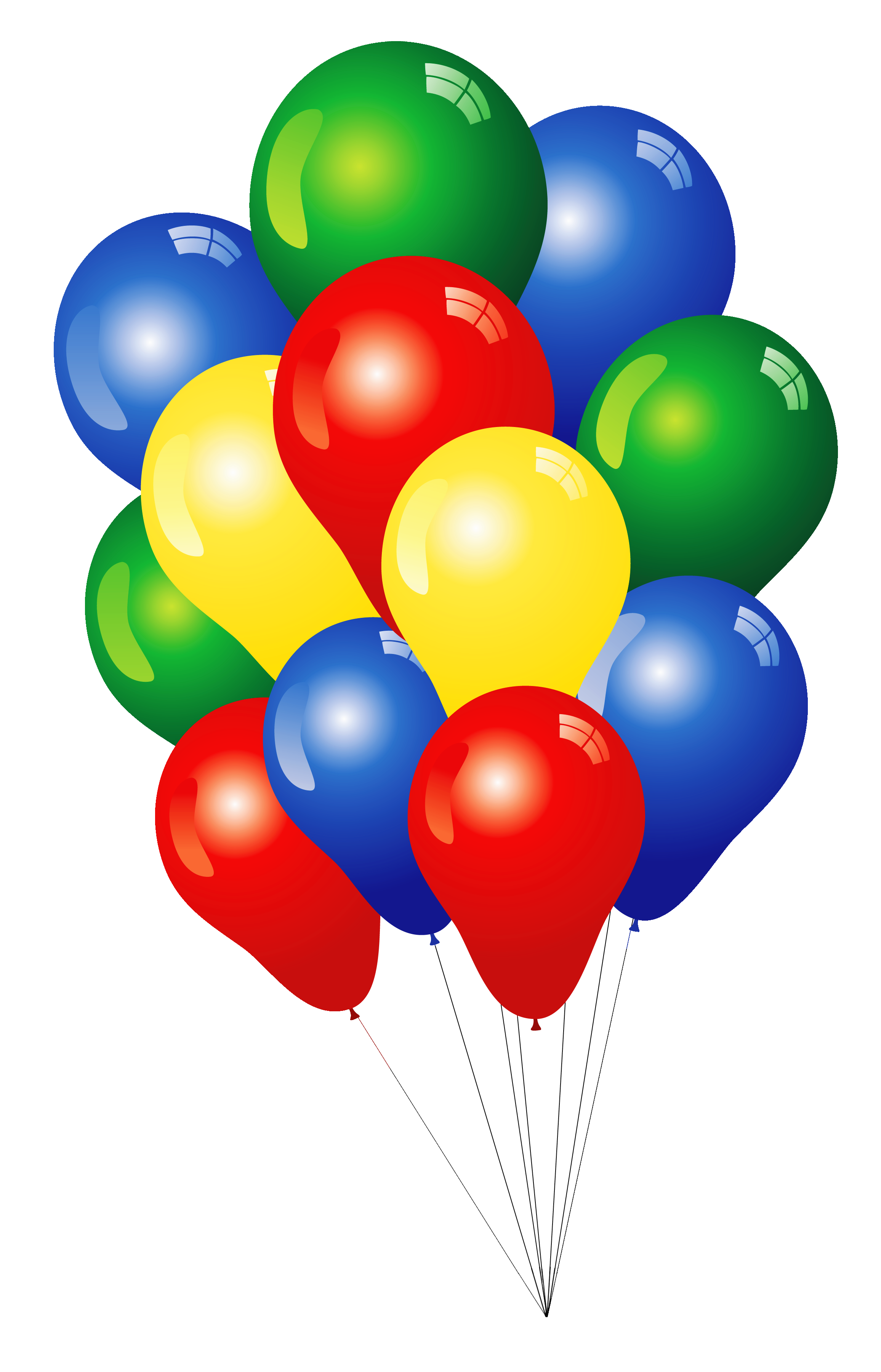 Free Clip Art Balloons - Clipart Of Balloons
