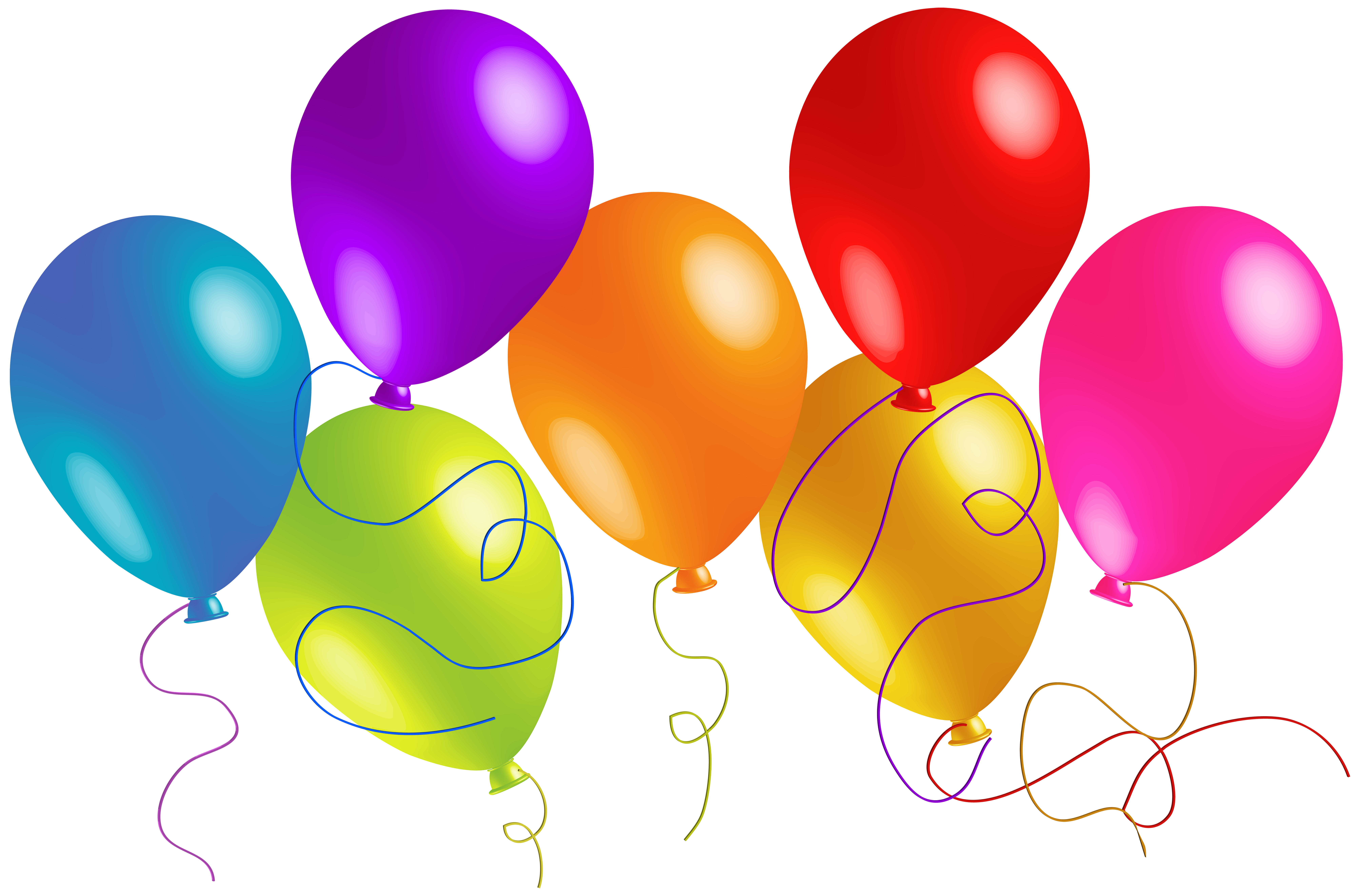 Free Clip Art Balloons - Free Clipart Balloons