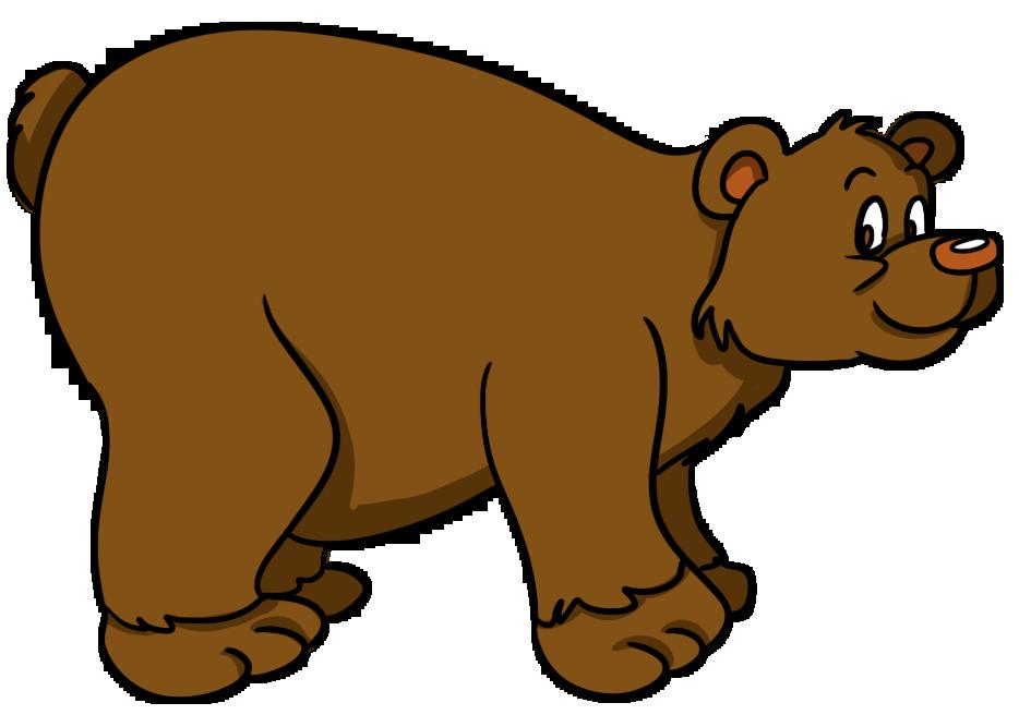 Free clip art black bear clipart image