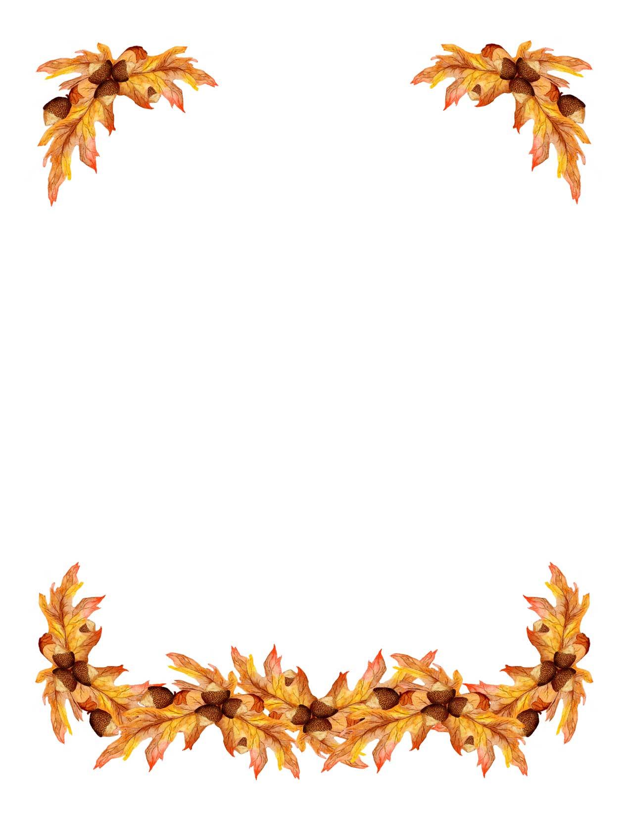 Free Clip Art Borders Bing Thanksgiving -free clip art borders bing thanksgiving corner border-4