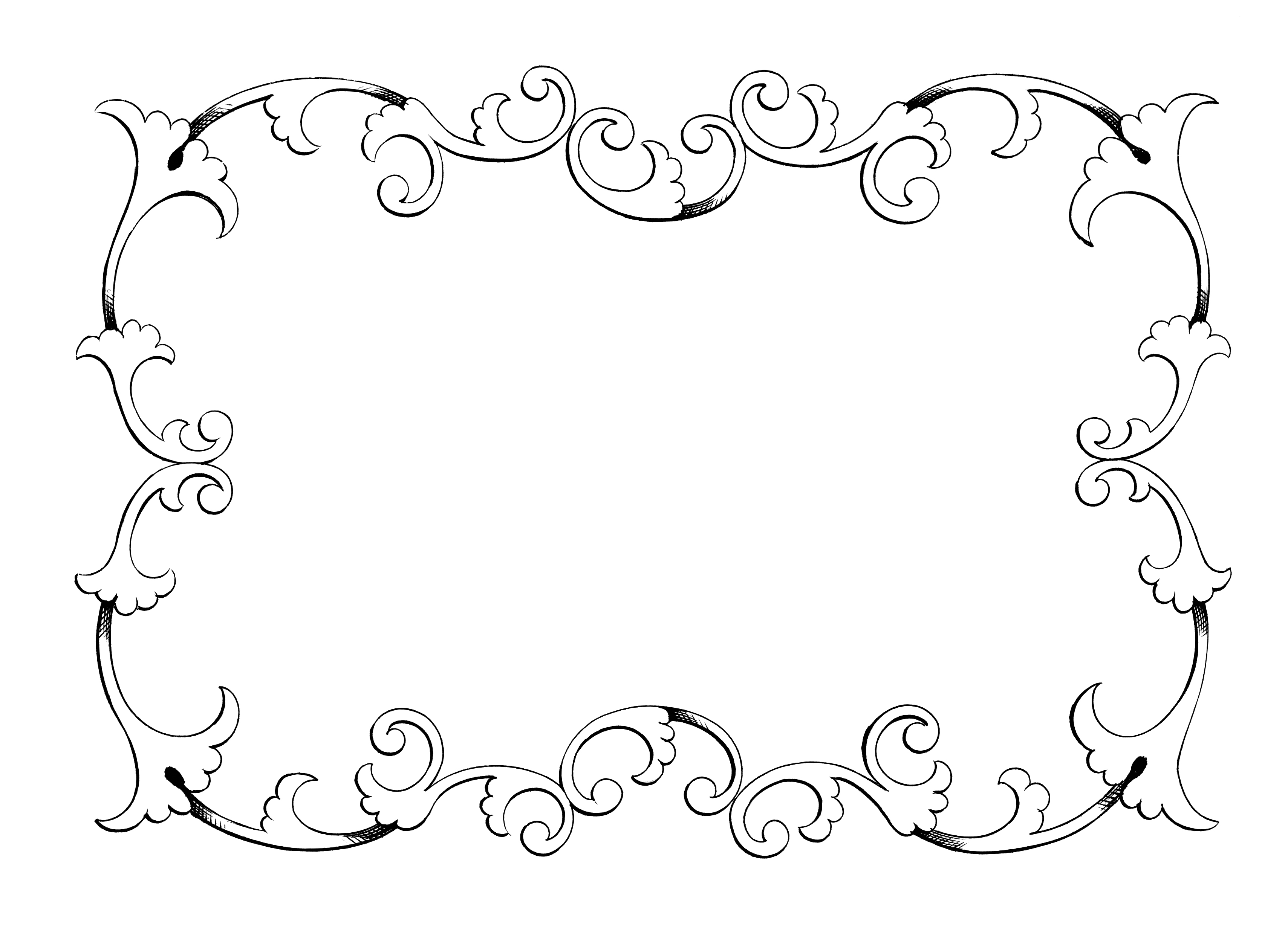 Free clip art borders frames  - Free Clip Art Border