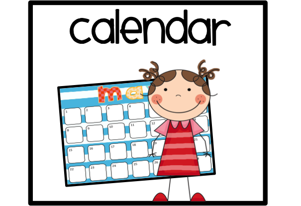 Free Clip Art Calendar - Free Calendar Clipart
