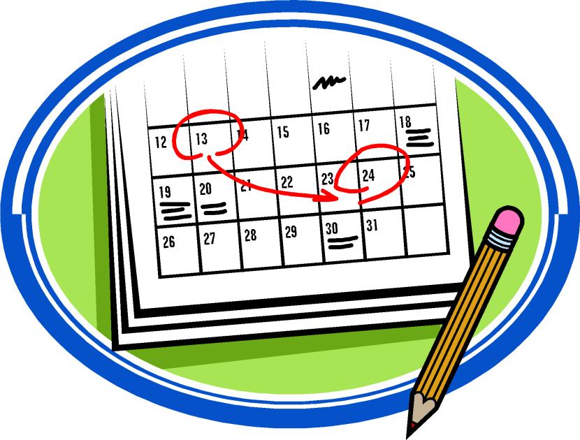 Free Clip Art Calendar-Free Clip Art Calendar-14