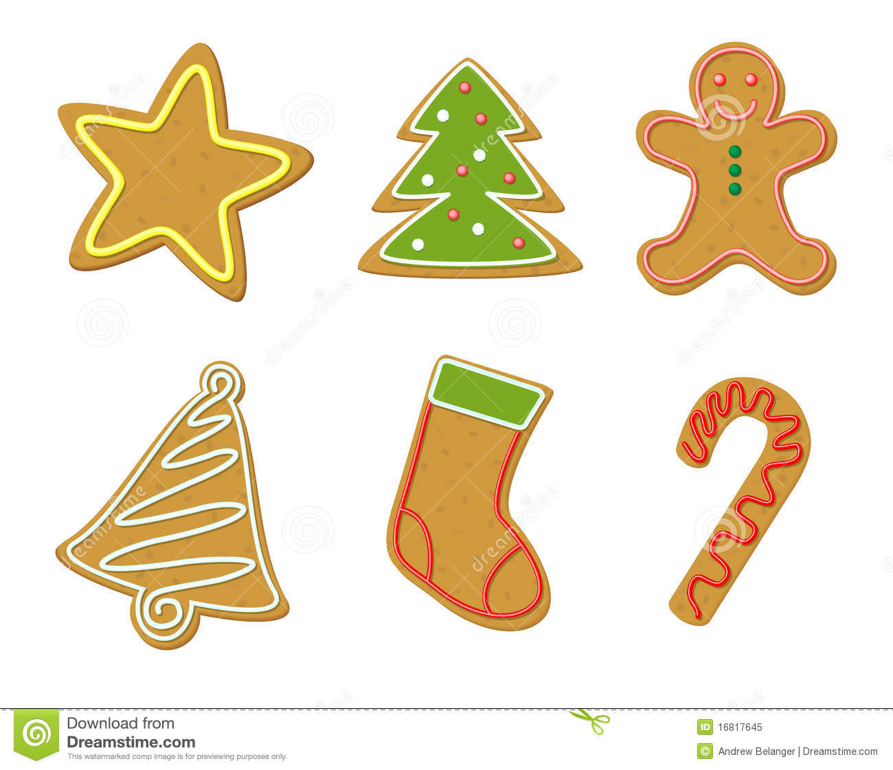 19 Christmas Cookies Clipart Clipartlook