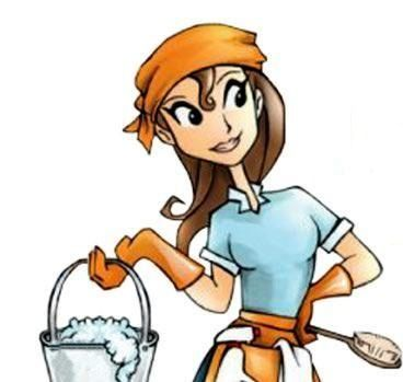 Free Clip Art Cleaning Lady .-Free Clip Art Cleaning Lady .-12