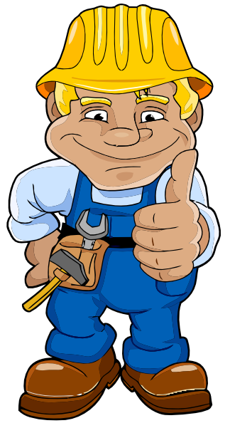 Free Clip Art Construction Worker-Free Clip Art Construction Worker-11