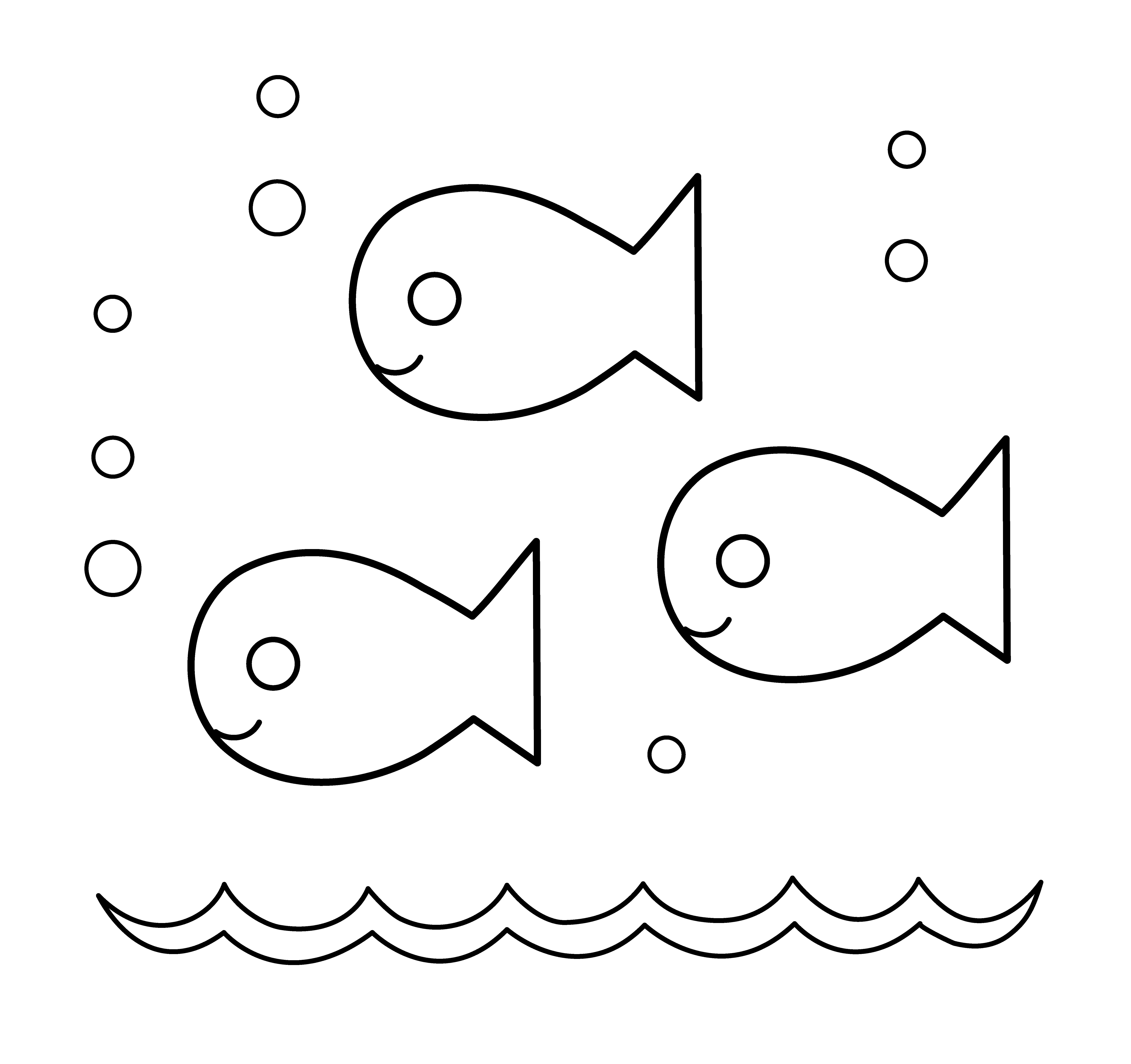 Free Clip Art Cute Fish .