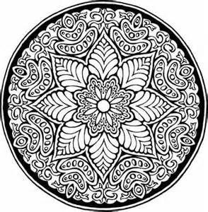Free clip art: Designs, frames, Islamic patterns, Mandala designs   kleurplaten   Pinterest   Stains, Coloring and Mandala coloring