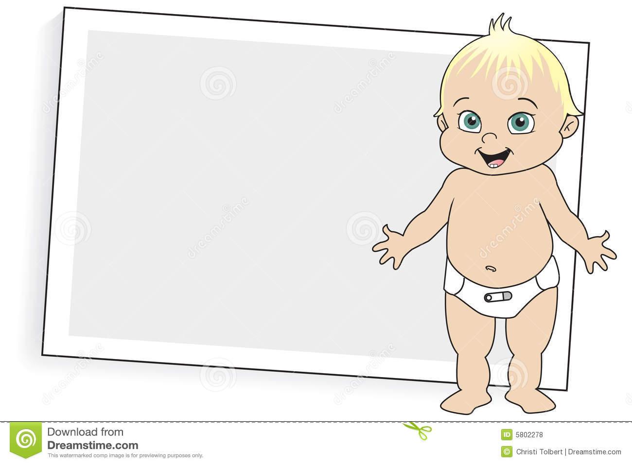 Free Clip Art Diaper Clipart. Vector Ill-Free clip art diaper clipart. Vector Illustration Of Baby In ..-12