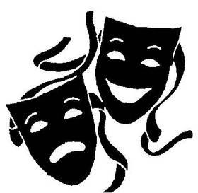Free Clip Art Drama Masks
