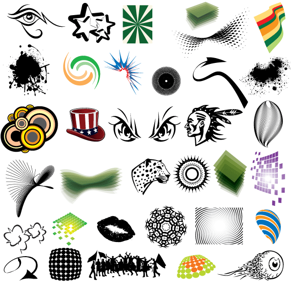 Free Clip Art Elements Vector Pack-Free Clip Art Elements Vector Pack-3
