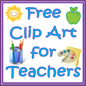 Free Clip Art for Teachers - Preschool Clip Art Free