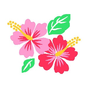 Free Clip Art For Your Luau .-Free clip art for your luau .-1