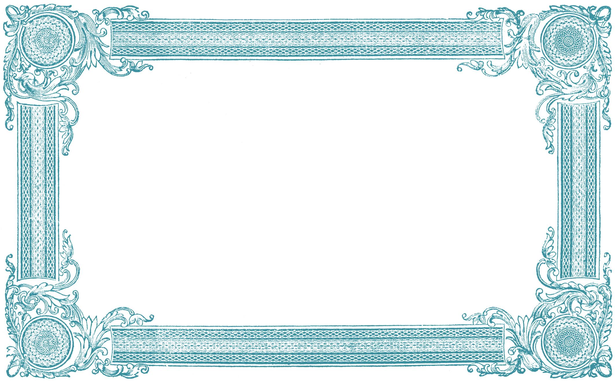 Free clip art frames - ClipartFest