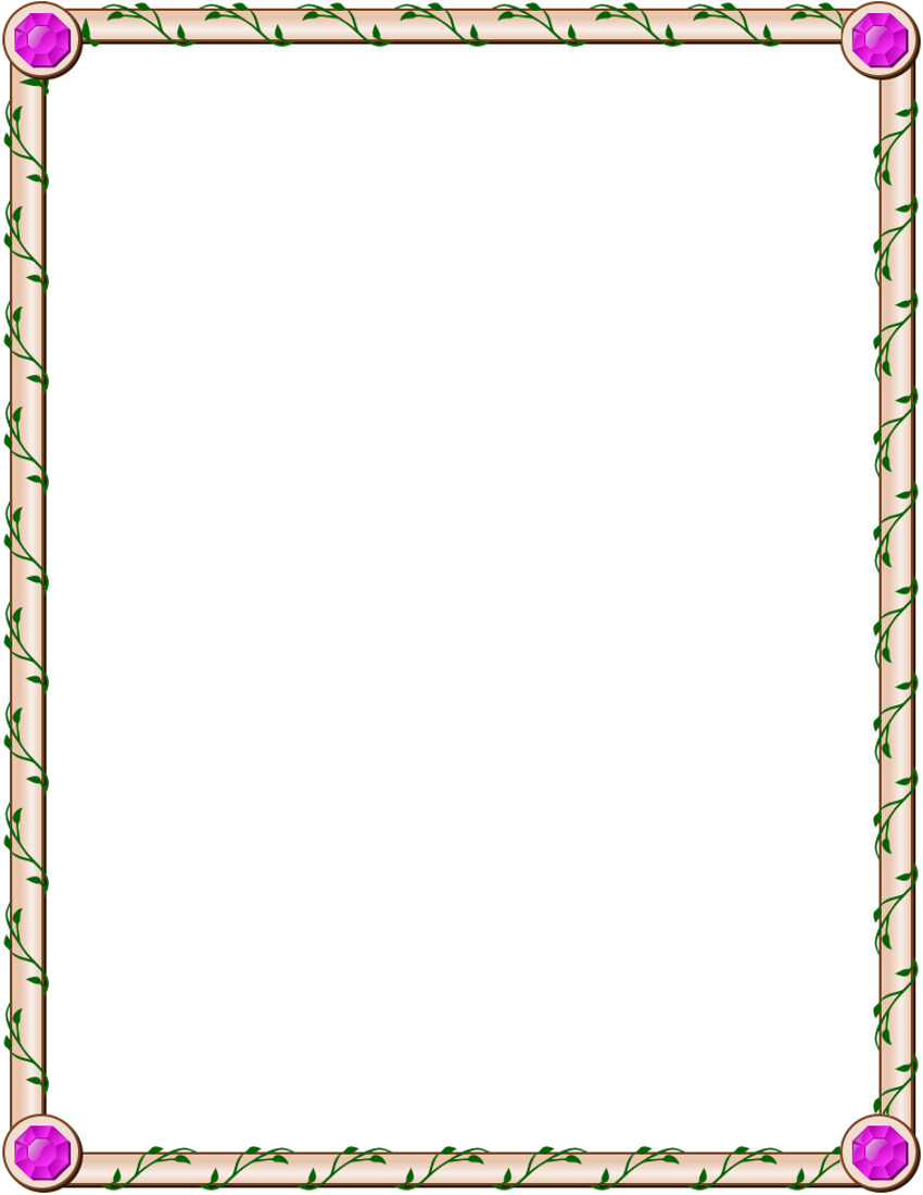Free Clip Art Frames. Jeweled Ivy Page F-Free Clip Art Frames. Jeweled Ivy Page Frame Border .-12