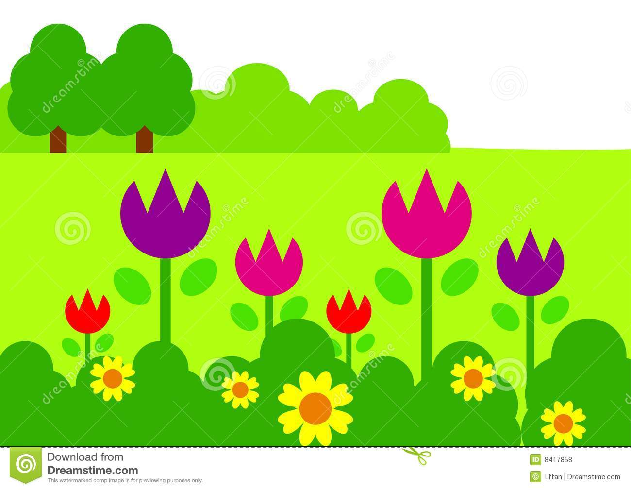 Free Clip Art Garden Backgrounds Cdxnd Com Home Design In Pictures
