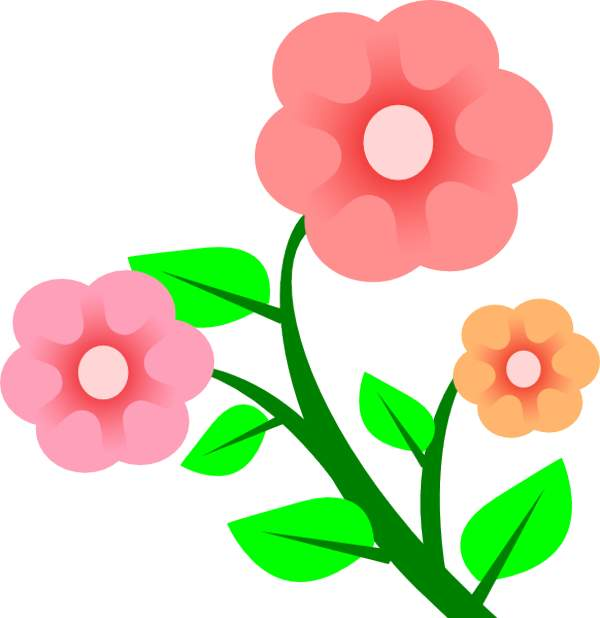 Free clip art graphics flower - Flowers Clipart Images