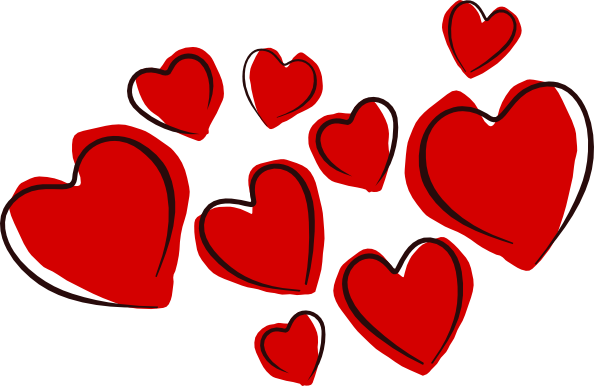 Free Clip Art Hearts Clipart  - Love Heart Clipart