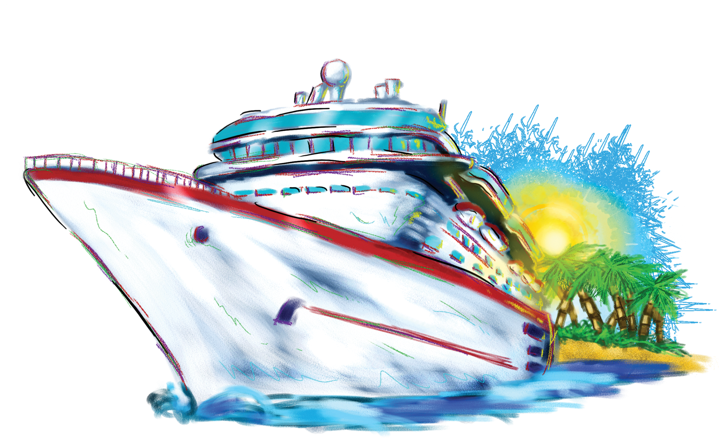 ... Free Clip Art Images. Vacation Cruise Ship The .