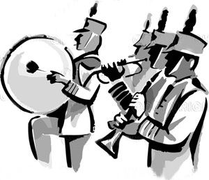 Free Clip Art Marching Band | Marching B-free clip art marching band | Marching Band Animated-4