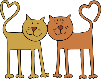 Free Clip Art Of Cats