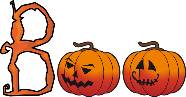 Free Clip Art Of Halloween Boo Word Art Dixie Allan