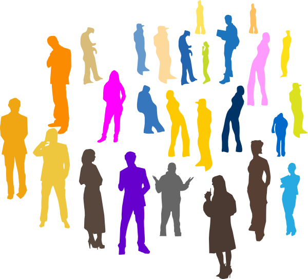 Free clip art of people gathering dromgfe top