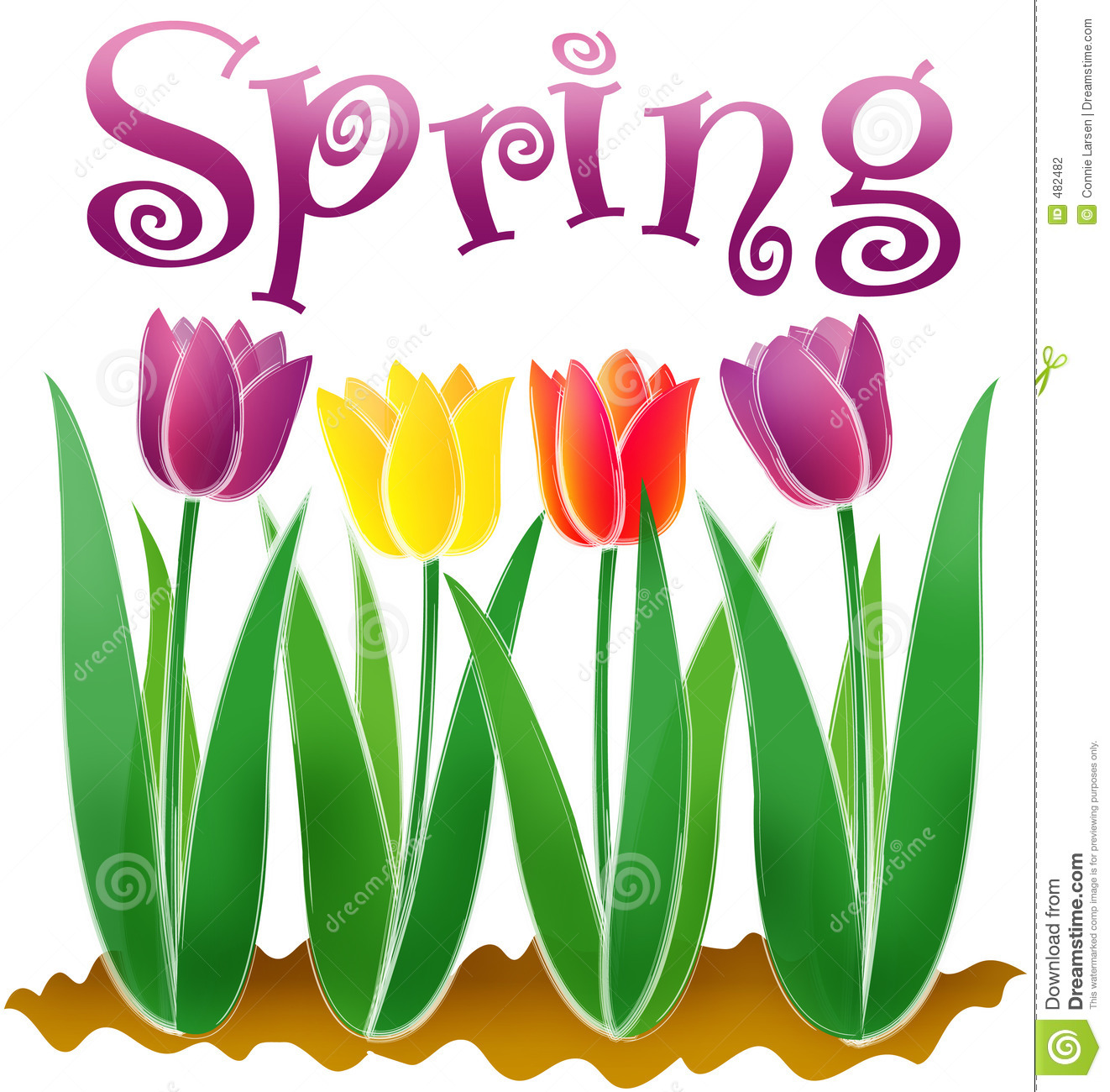 Free clip art of spring pictures