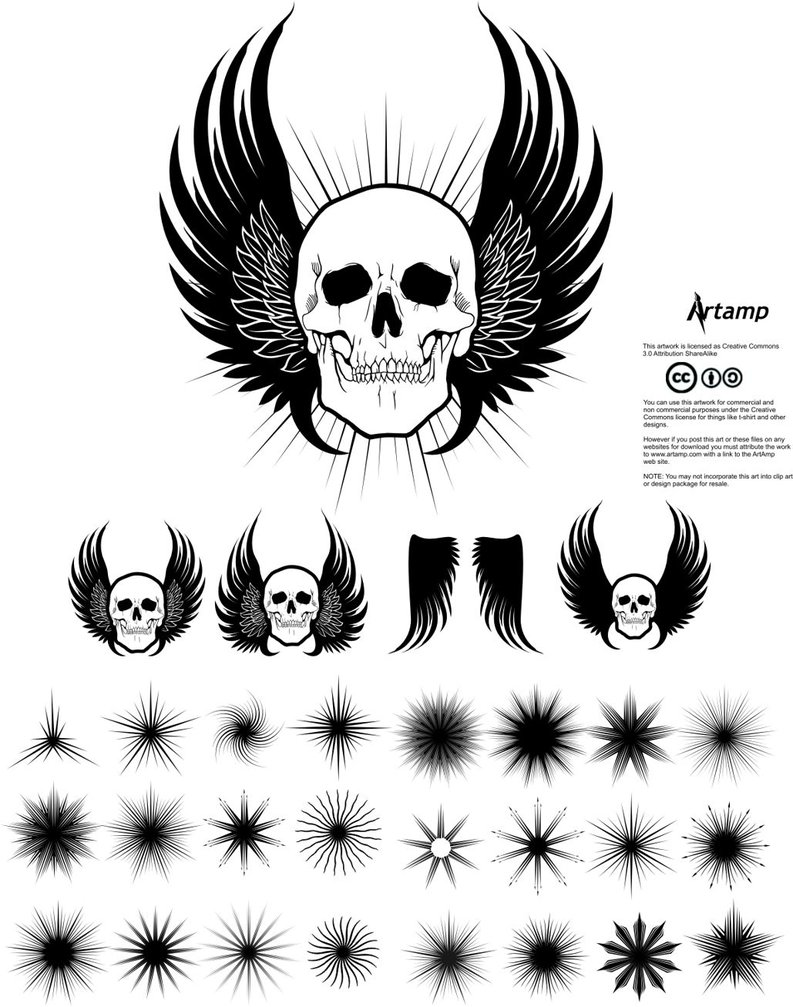 Free Clip Art Pack by artamp .