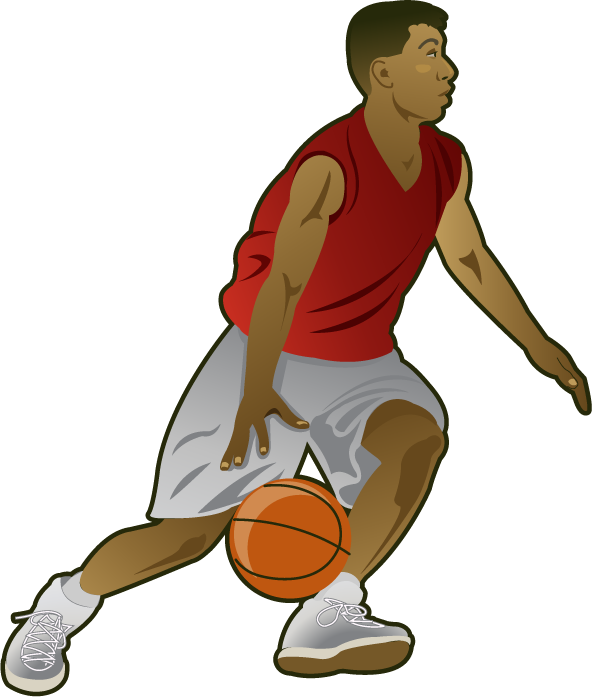 Free Clip-Art: People » Sports » Basketball player