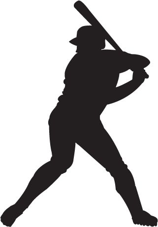 Free Clip-Art: People   Sports   Silhoue-Free Clip-Art: People   Sports   Silhouette Baseball Player - ClipArt Best - ClipArt Best | The Locker Room | Pinterest | Clip art, Sports and Baseball ...-8